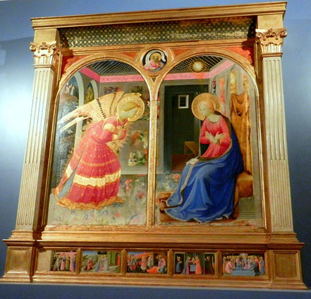 Dipinto del Beato Angelico in Toscana