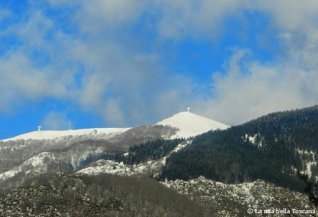 Neve nel Pratomagno