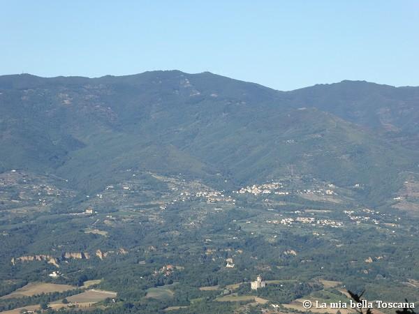 Sentiero panoramico di Toscana