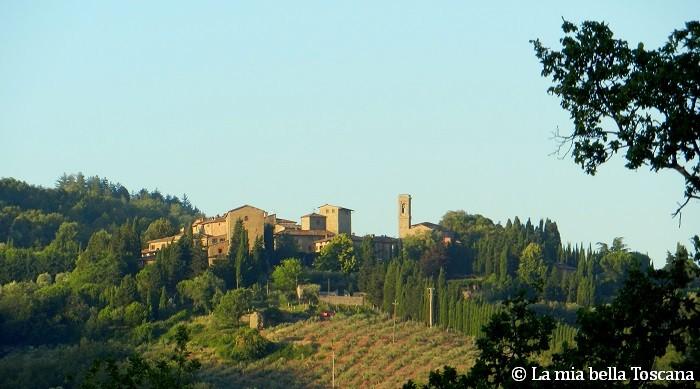 Il borgo di Volpaia in Chianti