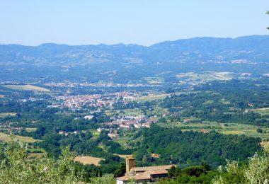 Panorama del Valdarno