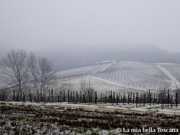 Neve in Valdarno