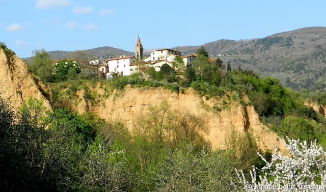 Le balze del Valdarno a Piantravigne