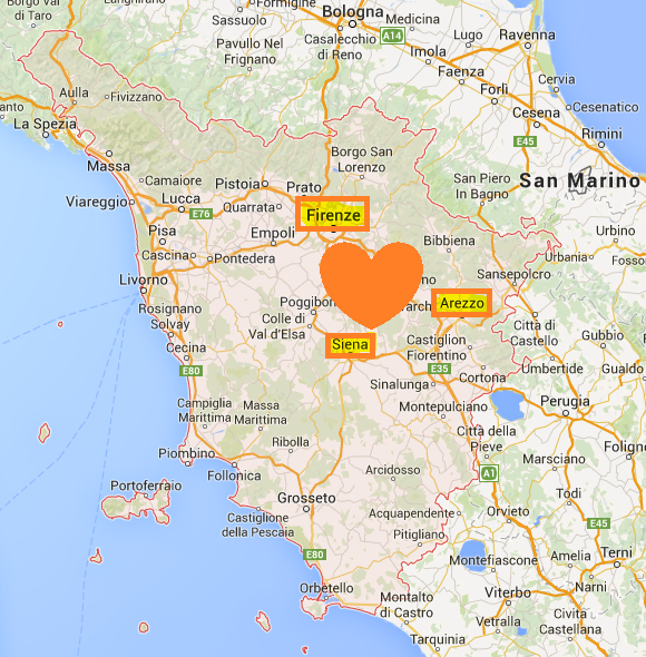 Siena Cartina Toscana.Dove Andare Per Visitare Il Cuore Della Toscana La Mia Bella Toscana