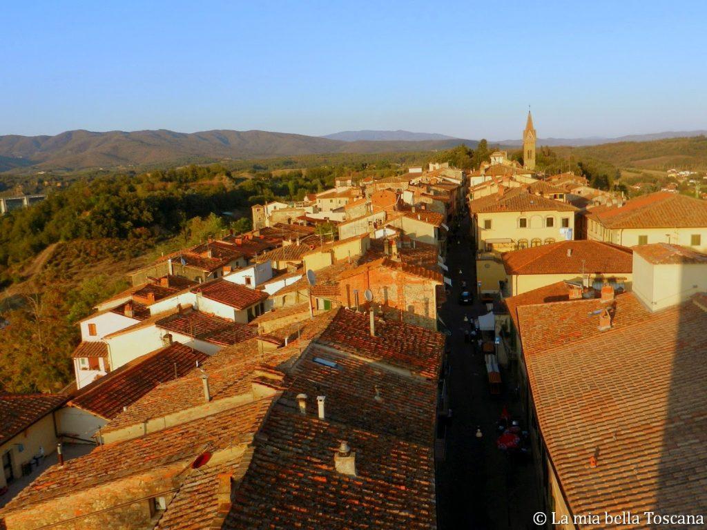 Borgo medioevale di Toscana
