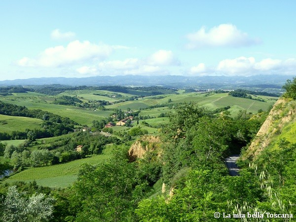 Il più bel panorama del Valdarno