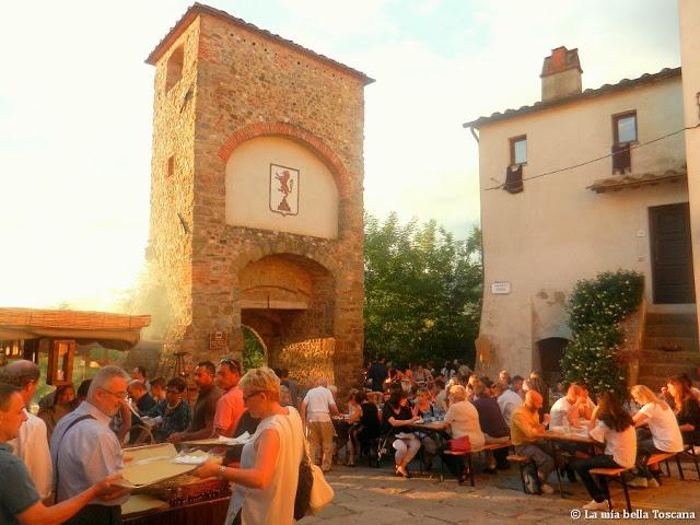 Festa medioevale Toscana