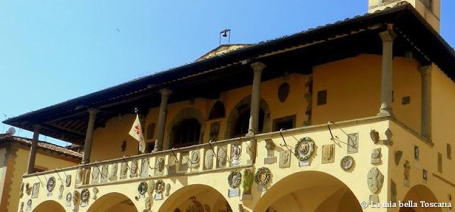Stemmi dei podestà in Toscana