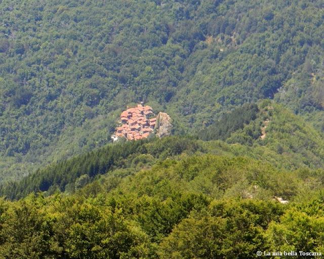 Piccoli borghi di montagna in Toscana
