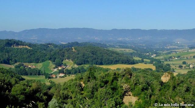 Panorama sul Valdarno Superiore