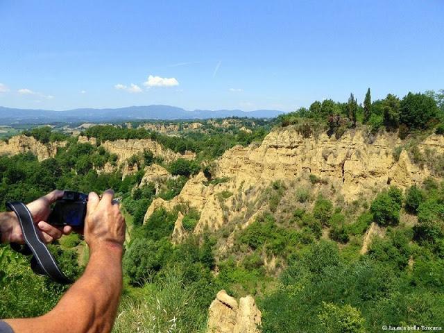 Le balze della Toscana