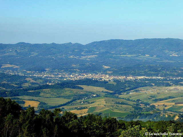 La valle dell'Arno in Toscana