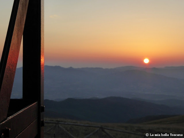 Alba Toscana di montagna