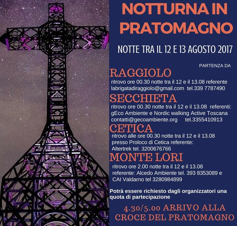 Escursione notturna in Pratomagno