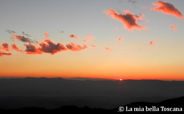 Tramonto in Valdarno
