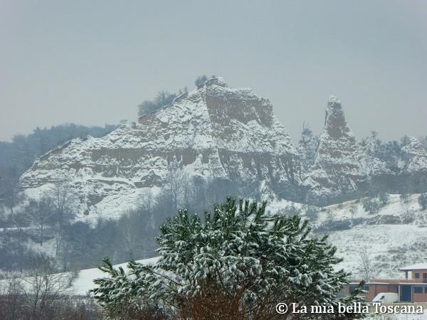 Neve nel Valdarno
