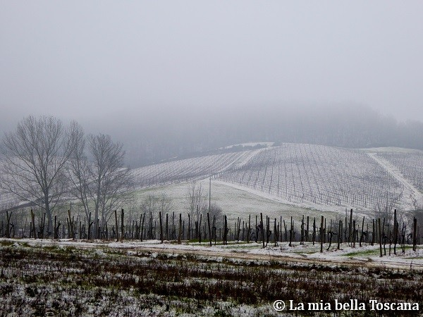 Neve in Valdarno