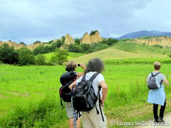 Camminate Balze del Valdarno