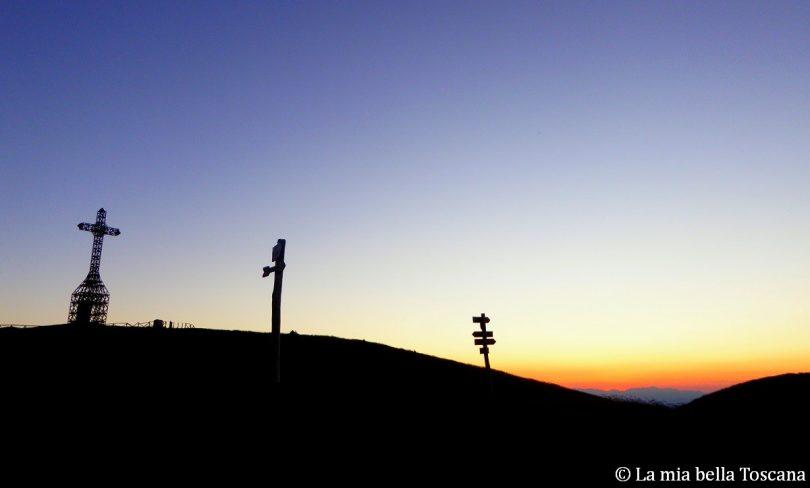 Tramonto sul Valdarno