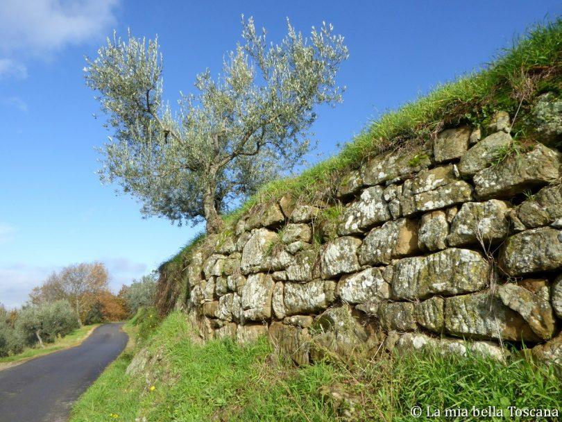 Muri a secco Toscana